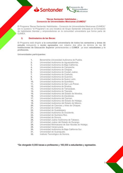 becas Santander 2021